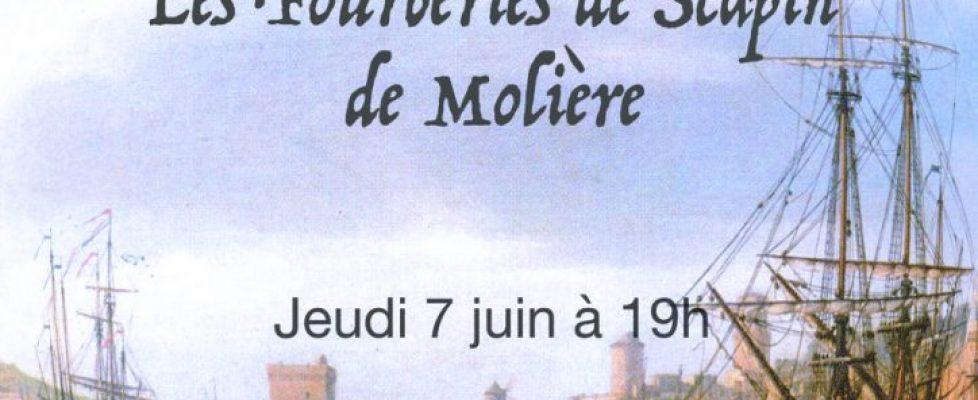 affiche scapin - Collège Henri-Matisse